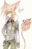 My OC - Hazza- by Invisible-Wings95