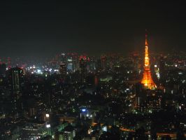 Tokyo Tower by chux0r