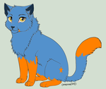 Warrior Cat OC Bluepaw 2, gift by Lady-Autobot17