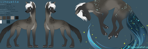 Silhouette Reference Sheet 2014 by tuliplou