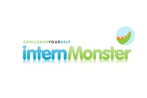 internMonster - Logo Design by Alneo