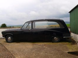 Hearse Stock by Lucy-Stock