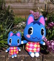Animal crossing rosie plushie by thebabby4