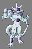 Frieza Fifth Form by hsvhrt