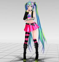 Tda Rokku Miku Download by Reon046