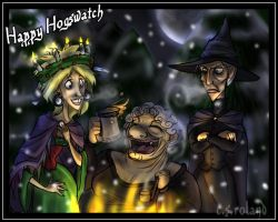 Discworld- Happy Hogswatch by Bilious