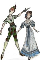 classic peter and wendy by jwcd889