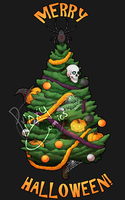 Spooky Christmas shirts and hoodies! by ProxyComics