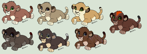 More Cubs by werewolfluva