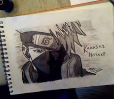 Kakashi {Naruto} by The-bloody-reaper