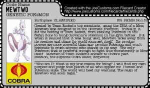 Mewtwo Filecard by AnimeJason2010