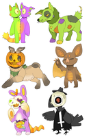 More Halloweenies. by P00CHYENA