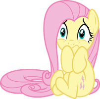 Scared Fluttershy by GameMasterLuna