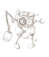 Bean-Can the baby robot by LunacyFestival