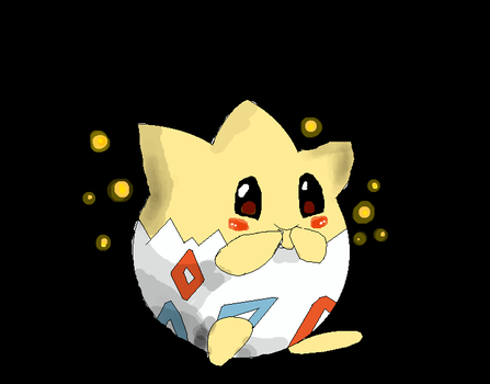 Togepi by LugiaForDaWin