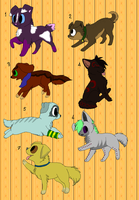 Free puppy adoptables CLOSED by XxWhiteShadow96xX