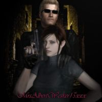 Claire's Protector - B by IamAlbertWesker