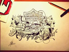 King of the road by MartaCmTattoos