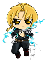 Edward Elric Chibi by Felina-Faerlaingal
