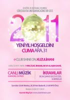 New Year Party Flyer Shine On by soufian