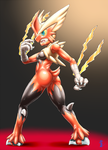 Mega Blazikin Suit Girl by sinrin8210