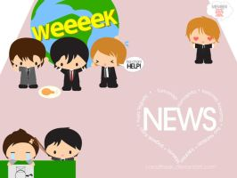 Weeek wallpaper by CarrotFreak