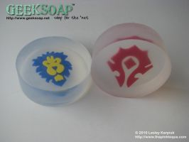 Warcraft GEEKSOAP Geek Soap by pinktoque