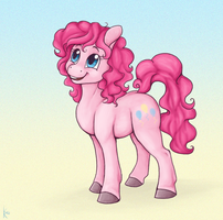 Pinkie Pencil by Klumpeh