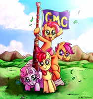 Cutie Mark Crusaders! by RedApropos