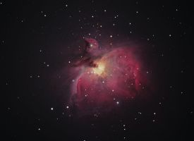 M42, The Great Orion Nebula by kwigell