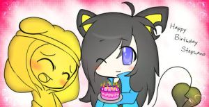Happy Birthday Stephano :at: by PKFoxas