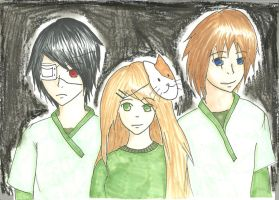 The Homicidal Trio by ZiaLiaLis
