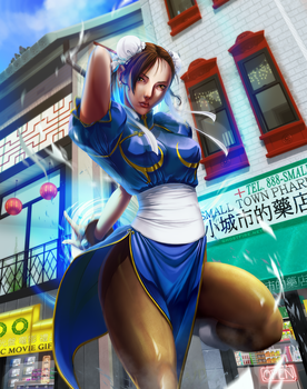 Chun-Li - Kikosho - Anime var. by ghostfire