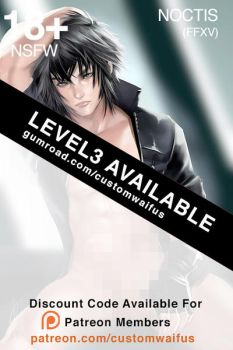 .NSFW Level 3 Noctis Now Available by customhusbandos