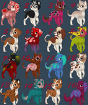 Dog Adopts 1 *open 16/16* by TGCAdopts