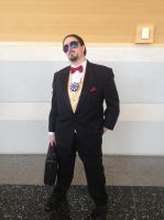Ikasucon 2013: Tony Stark by GoodDokCosplay