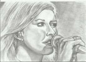 Ellie Goulding by pudasbeast