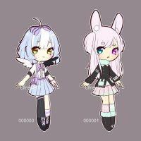 [SOLD] Set Price Adopts (000000 - 000001) by Citreolin