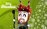King Sheamus Wallpaper by kapaeme
