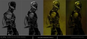 SOLDIER PROCESS PANELS by CHARLESRATTERAY