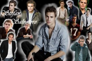 STEFAN SALVATORE WALLPAPER by Manga13-4ever