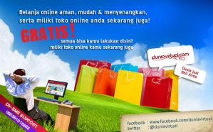 banner dunia virtual by primayoga
