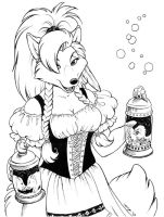 Barmaid by Dustmeat