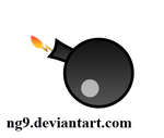 Bomb - png stock by ng9