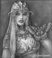Vampiress of Vision by Chael