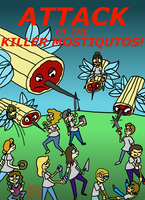 Attack of the Killer Mostiqutos! by AngelAndChangeling