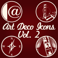 Art Deco Icons, Volume 2 by STCroiss