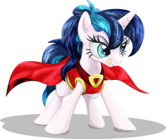 Superheroine Pony by DCPIP