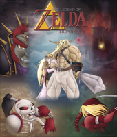 Child of the Triforce: Cover by Lady-Zelda-of-Hyrule