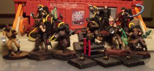 Ghostbusters Clix Conversions by JordanGreywolf